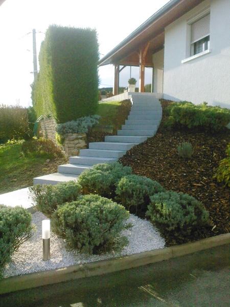 Réalisation escaliers